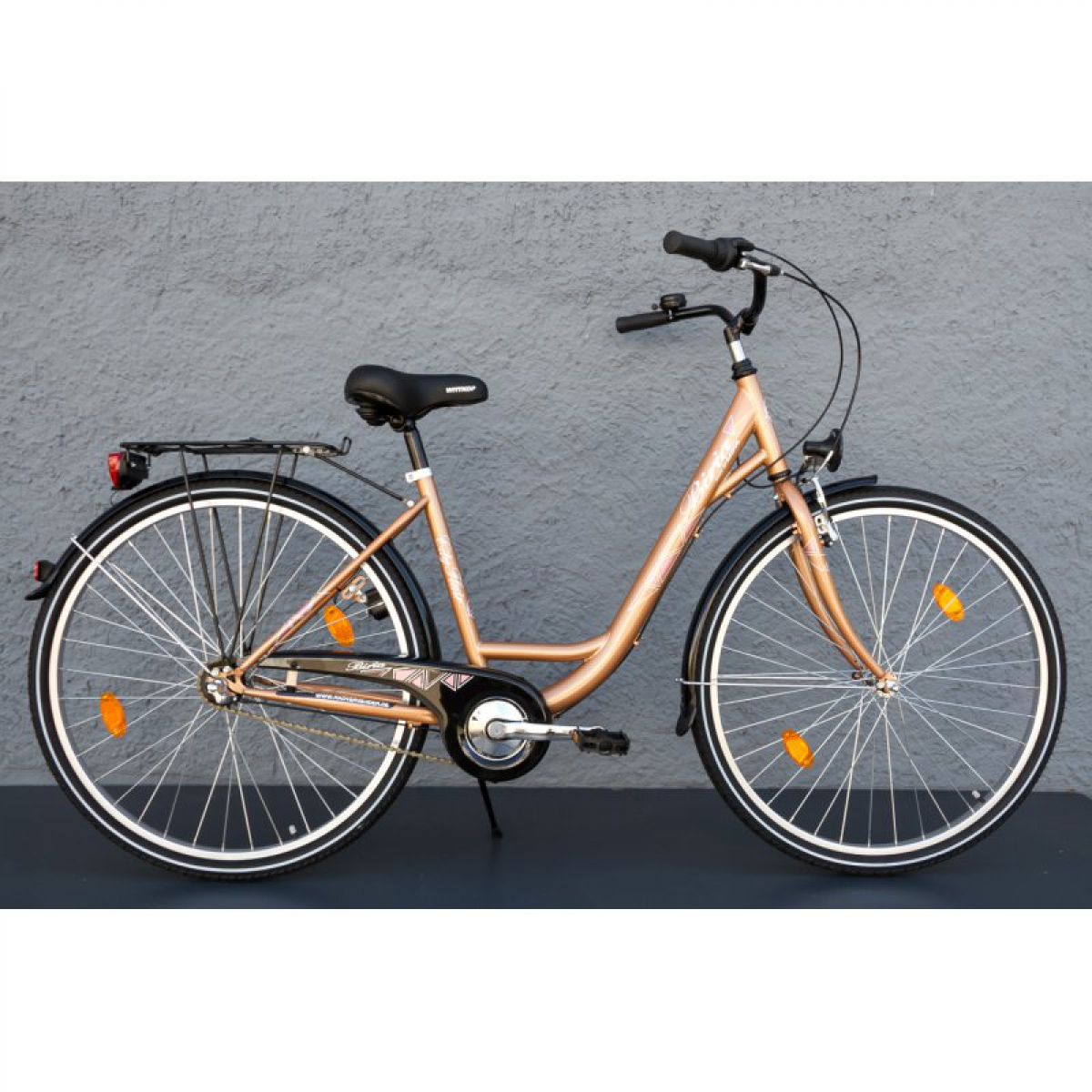 28 zoll damen fahrrad biria mifa city bike shimano 3 gang r cktritt gold ihr fahrrad online. Black Bedroom Furniture Sets. Home Design Ideas