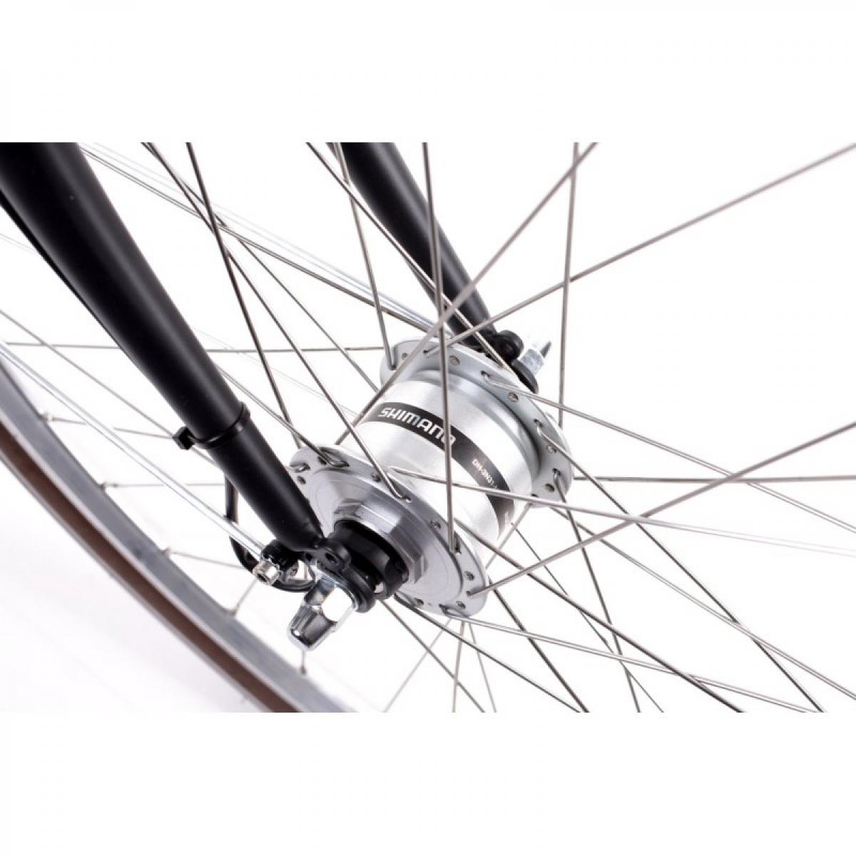 28 zoll alu damen mifa fahrrad 7 gang shimano nexus nabendynamo korb retro schwarz ihr. Black Bedroom Furniture Sets. Home Design Ideas