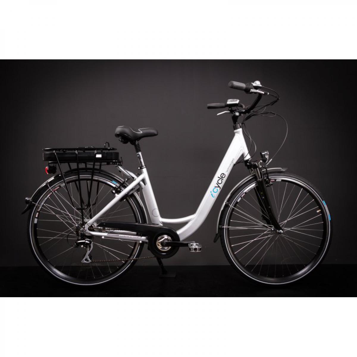 28 zoll alu damen elektro fahrrad e bike pedelec shimano. Black Bedroom Furniture Sets. Home Design Ideas
