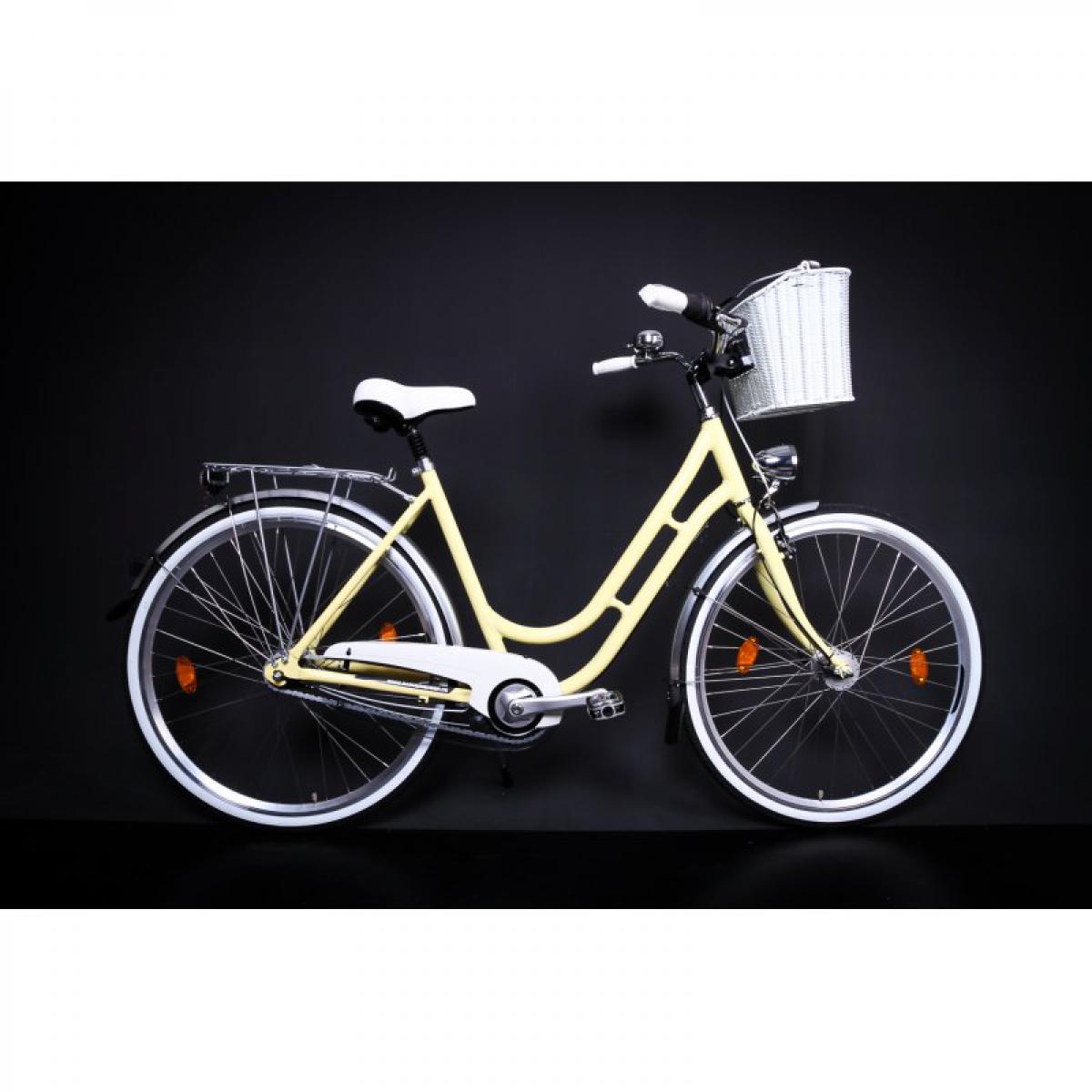 28 zoll alu mifa damen fahrrad city bike shimano 7 gang nexus nabendynamo gelb korb ihr. Black Bedroom Furniture Sets. Home Design Ideas